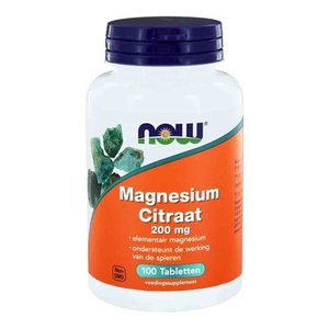NOW Magnesium 200 mg